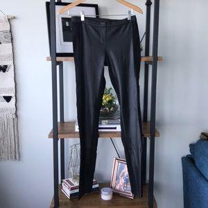 BCBG leggings/leather